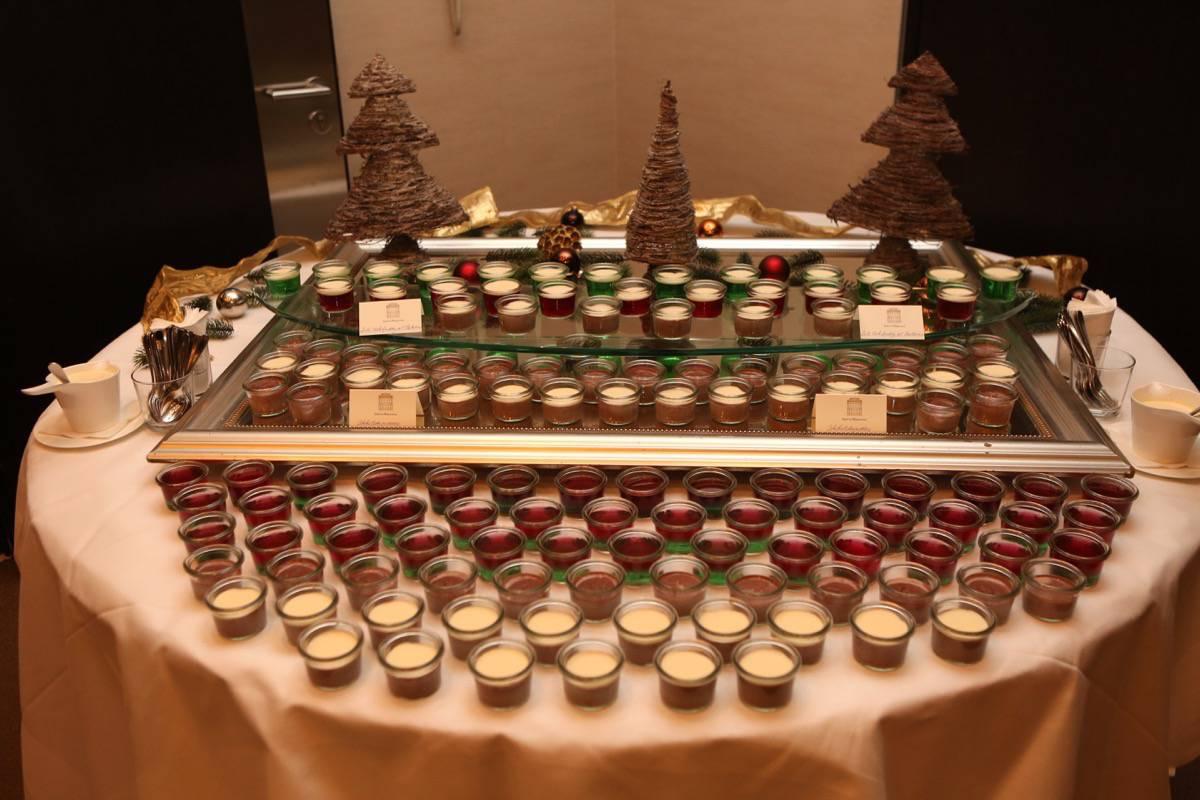 Weihnachtsessen im Hotel im Wasserturm