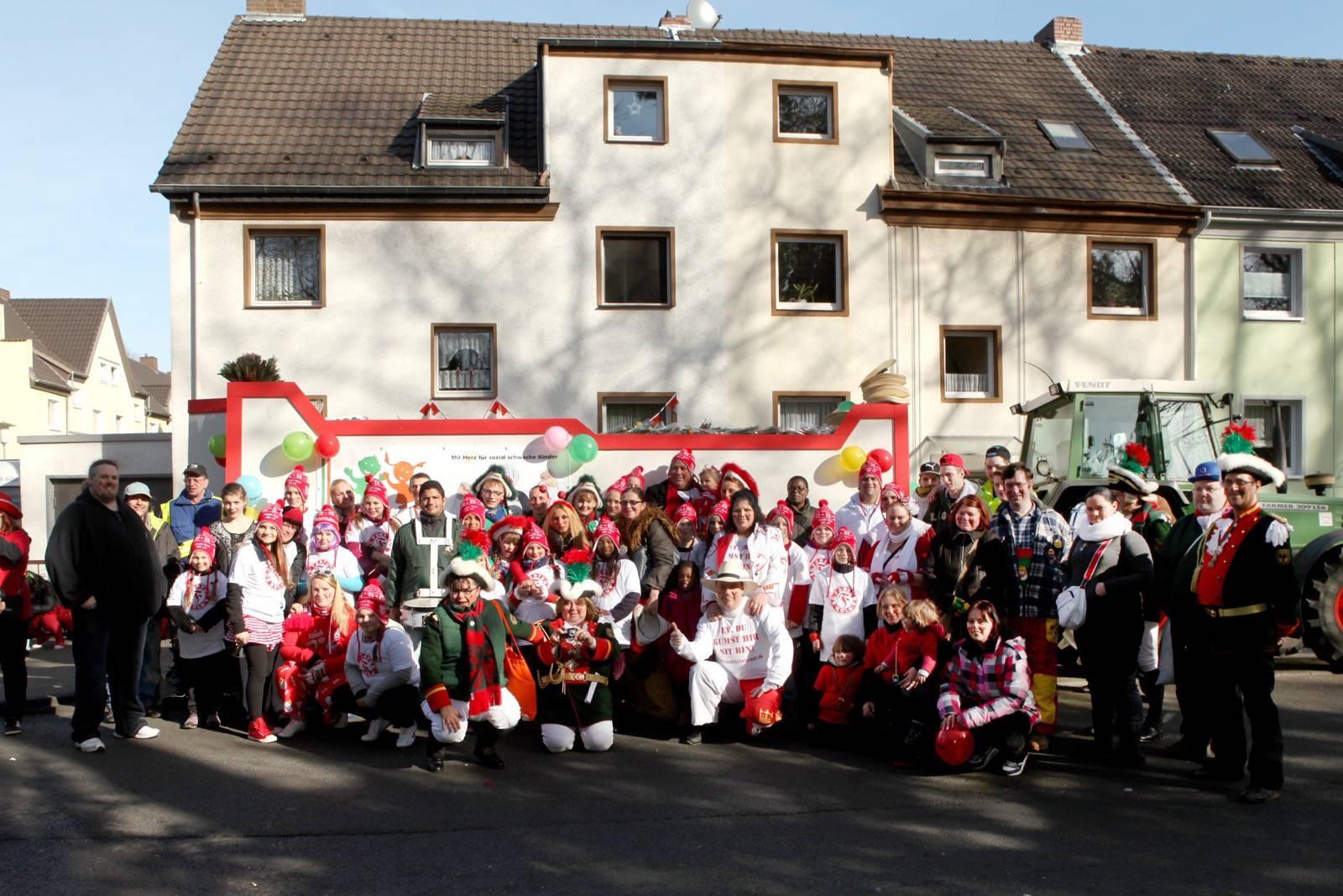 Zollstock Dienstagszug 2014 Fotos