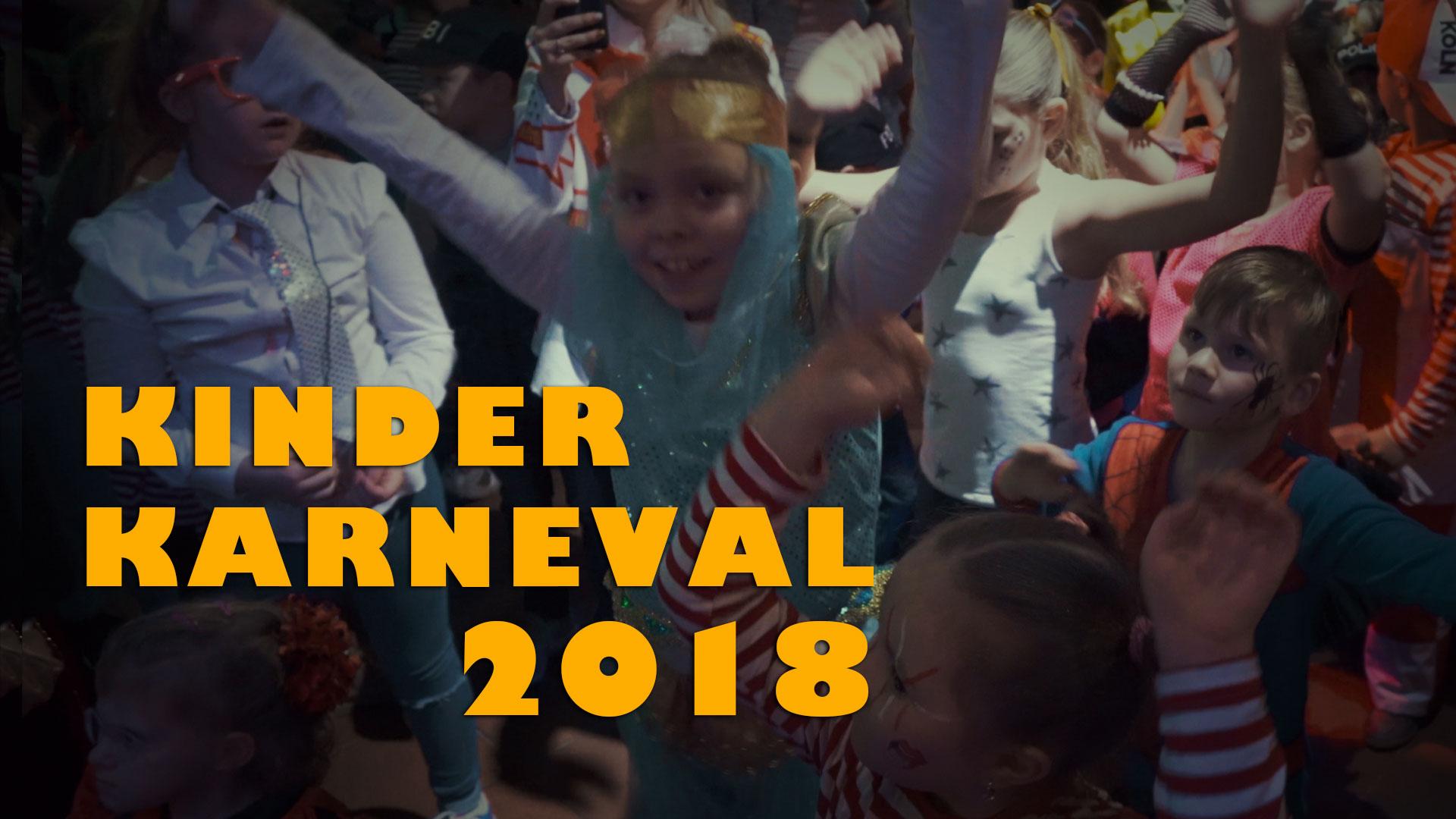 Kinder Karneval 2018