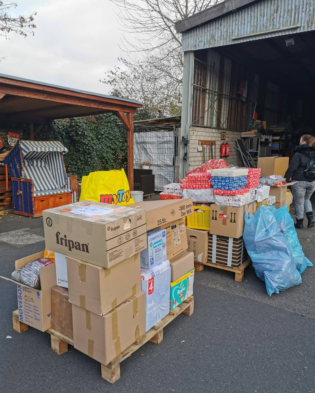 Spendenaktion am 29.11.2020 von Kölsche Kraat hilft e.v Hilfe für Mallorca.