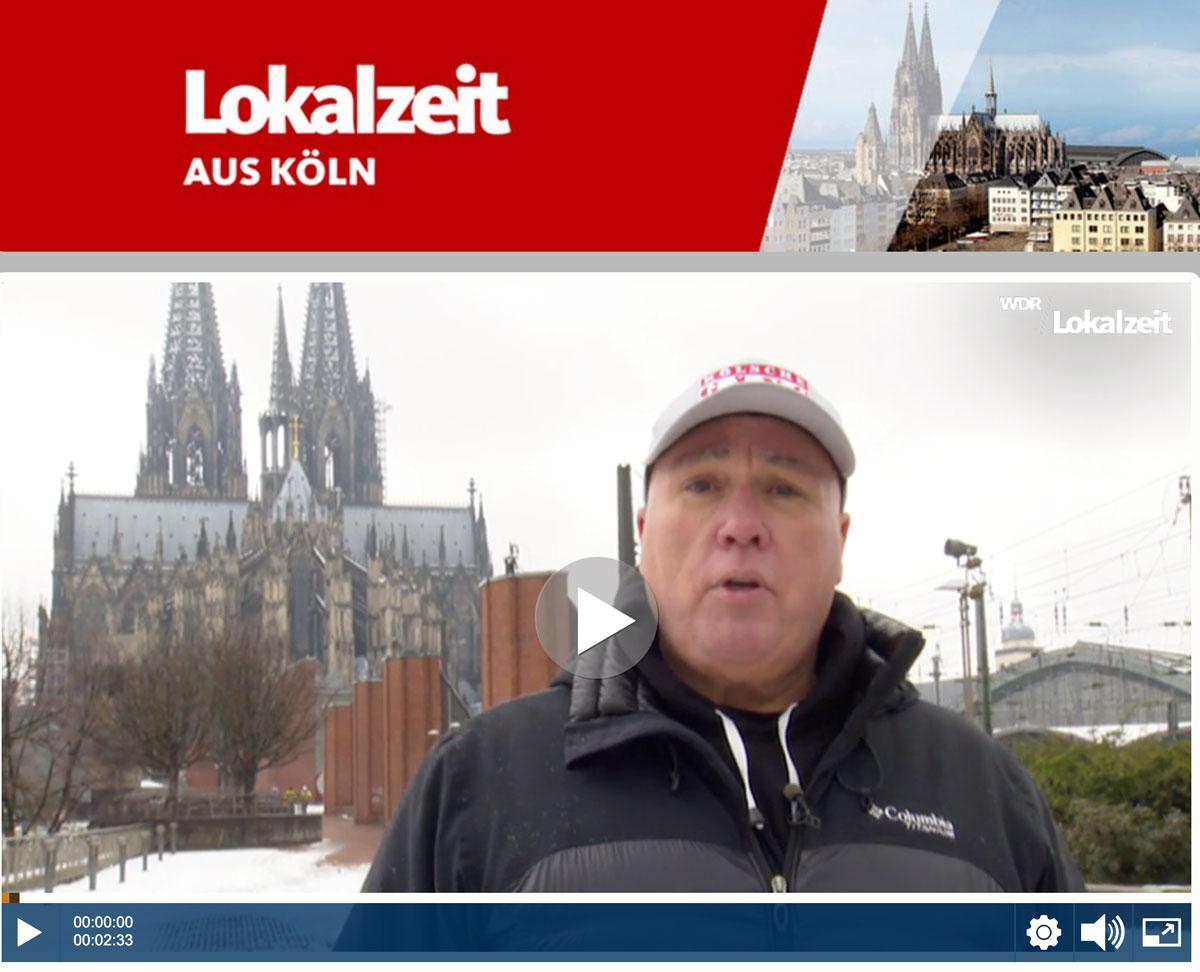 WDR Lokalzeit aus Köln - Met Hätz un Avstand - Singender Türsteher