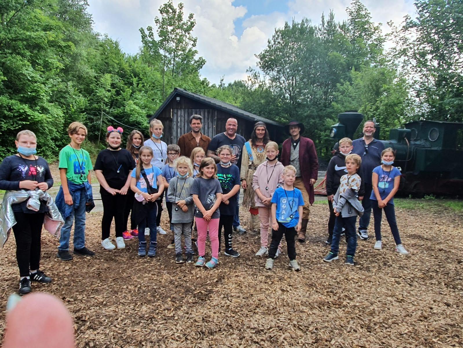 Mit den Kindern 2021 in Elspe bei Winnetou DER ÖLPRINZ