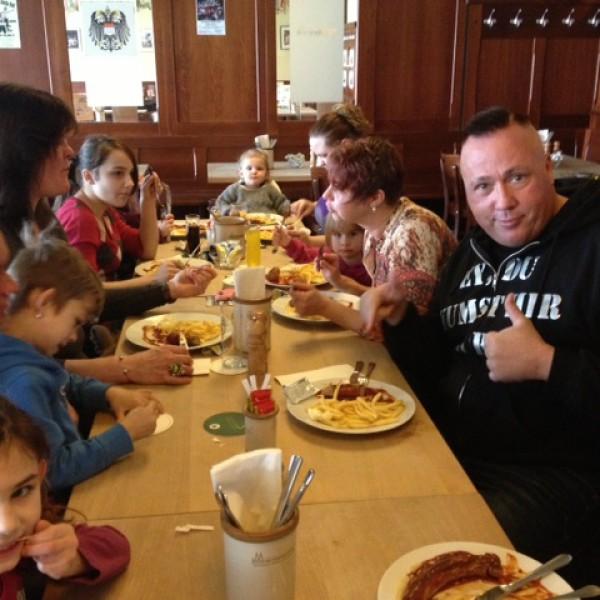 Essen im Stapelhaus
