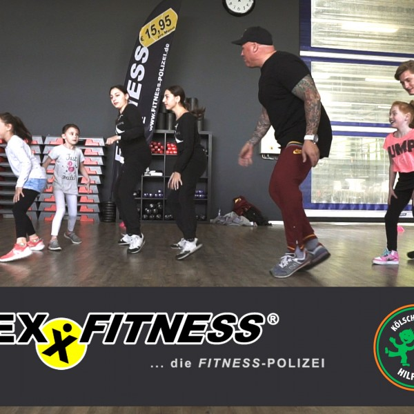 Kinder Fitness und Koch-Event bei FLEXX FITNESS